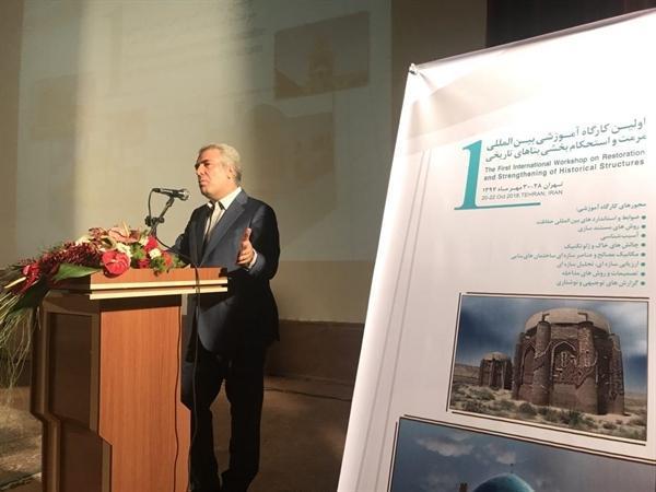 رئیس سازمان میراث فرهنگی: استفاده از تجربیات جهانی در حوزه مرمت لازم است