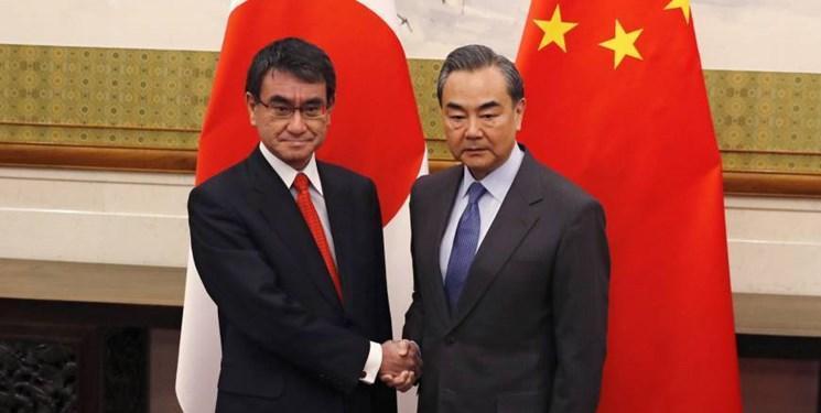 وزرای امور خارجه چین و ژاپن دیدار کردند