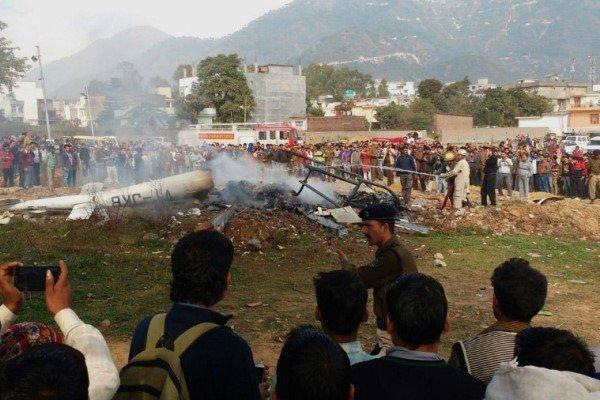 سقوط بالگرد در هند 3 کشته برجا گذاشت