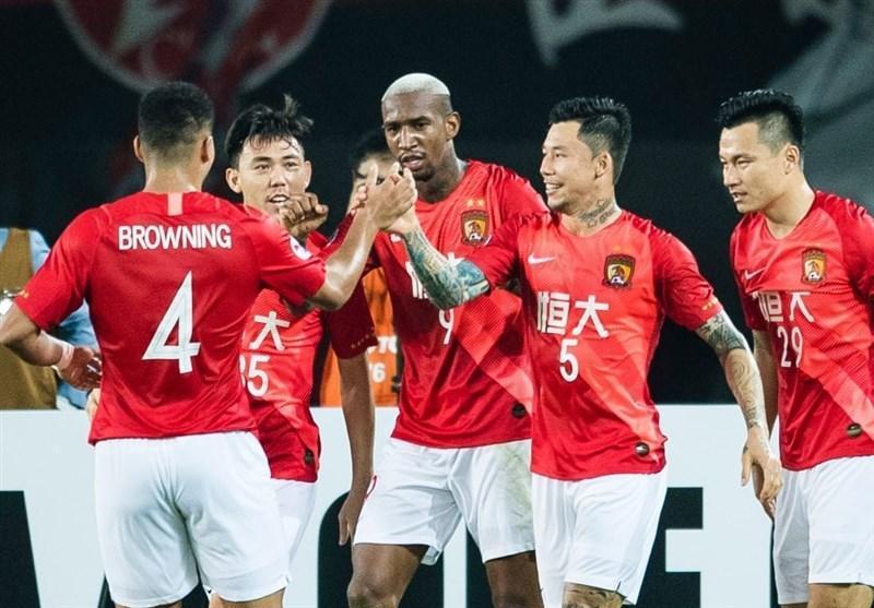 لیگ قهرمانان آسیا، فزونی پرگل گوانگژوی چین مقابل نماینده استرالیا
