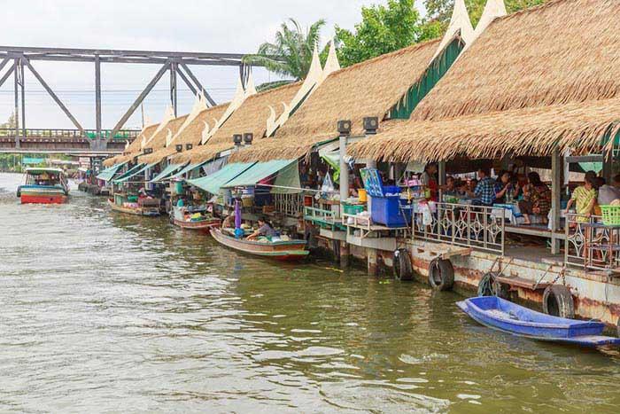 خریدی متفاوت در بازار های شناور بانکوک