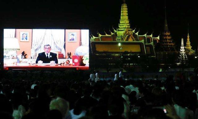 پادشاه تایلند در پیغام سال نو خواهان وحدت شد