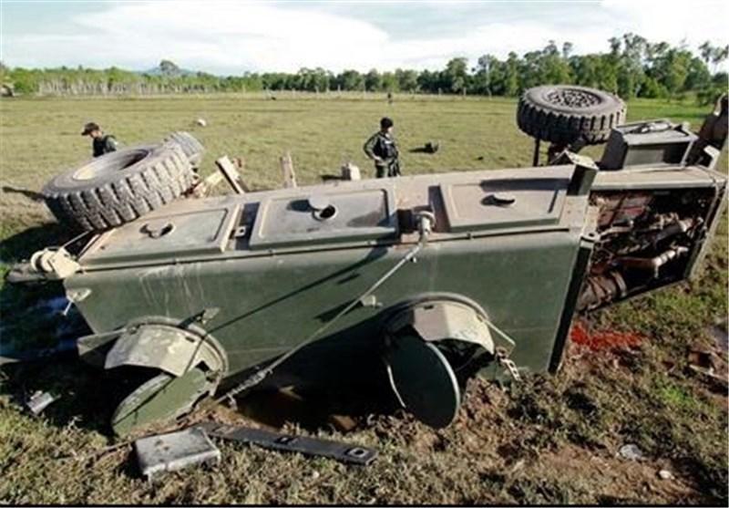 کشته شدن 5 سرباز تایلندی بر اثر انفجار بمب کنار جاده ای