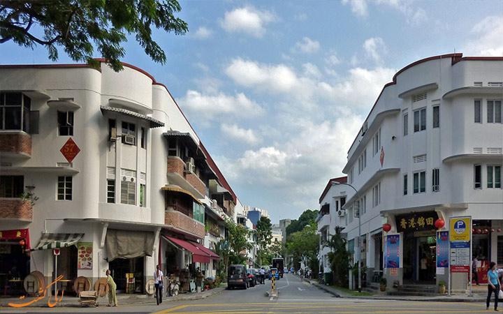 تیونگ بارو، یکی از قدیمی ترین محله های سنگاپور