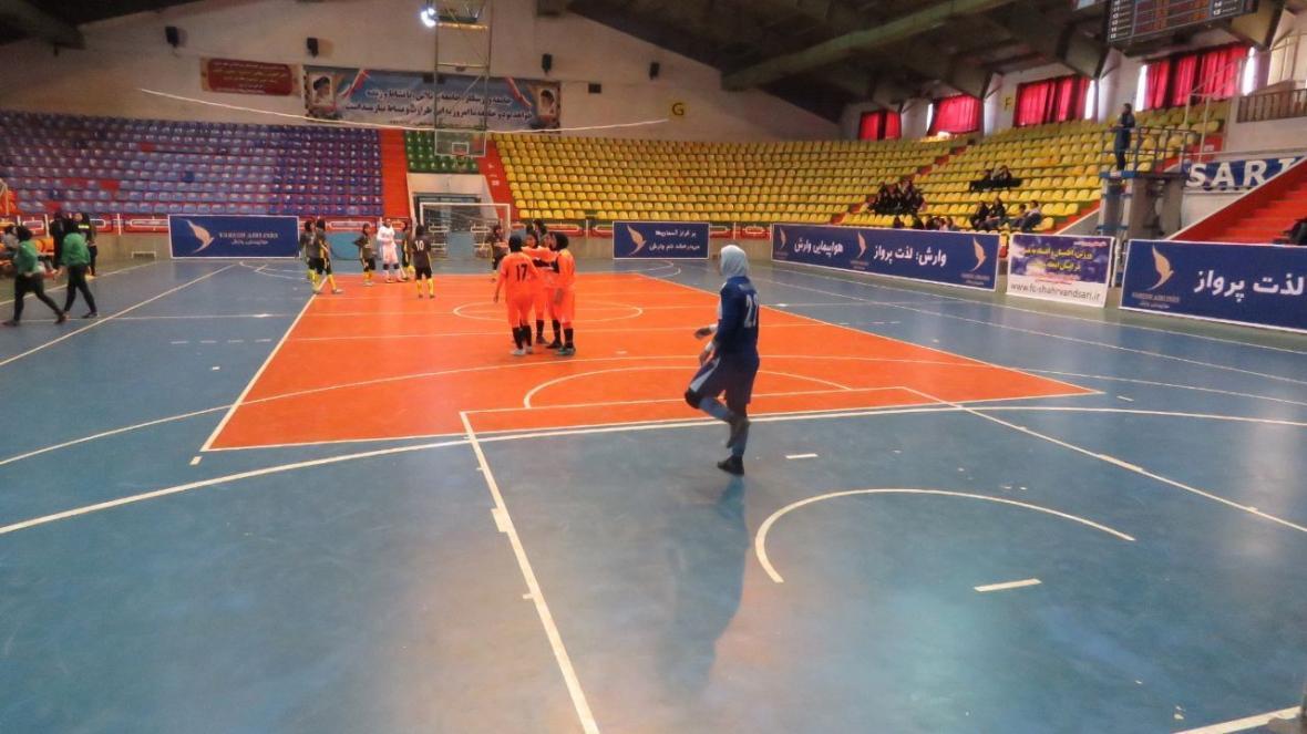 اولین برد فصل دختران شهروند ساری در لیگ برتر فوتسال ایران