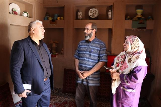 بازدید مدیرکل میراث فرهنگی قم از اقامتگاه های بوم گردی خلجستان