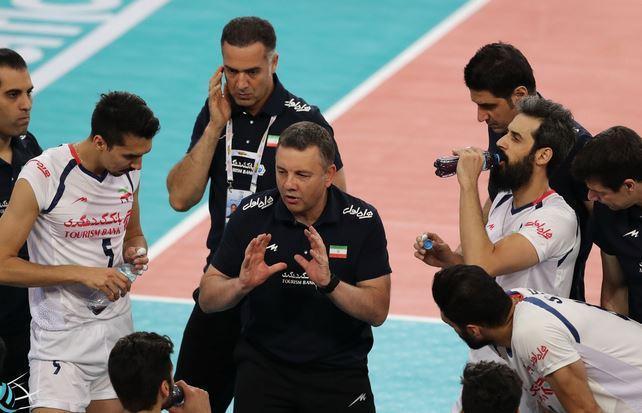 نظرات سرمربی و کاپیتان تیم ملی والیبال پس از باخت برابر ایتالیا