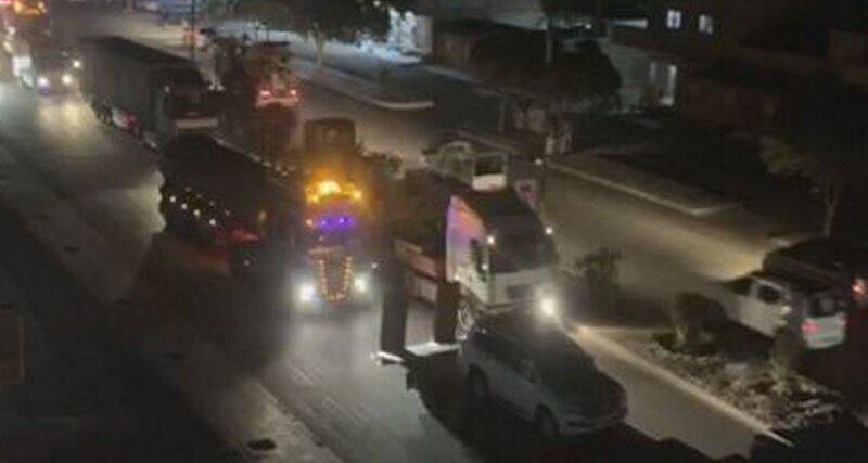 آمریکا 150 کامیون تسلیحات وارد استان حسکه سوریه کرد