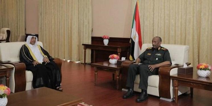 دیدار سفیر قطر در خارطوم با رئیس شورای حاکمیتی سودان