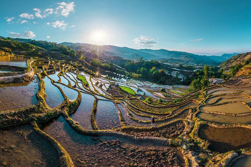 تور مجازی: تراس های برنج یوان یانگ؛ چین