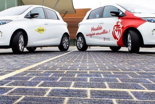 جاده های اروپا با پنل های خورشیدی فرش می شوند