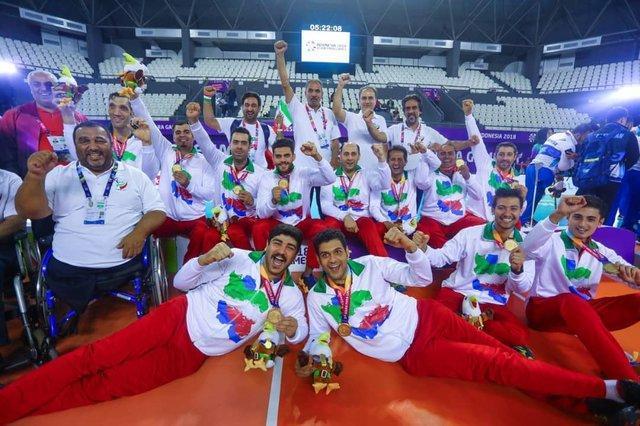 صندلی نخست والیبال نشسته مردان ایران در جهان، برای سی امین سال