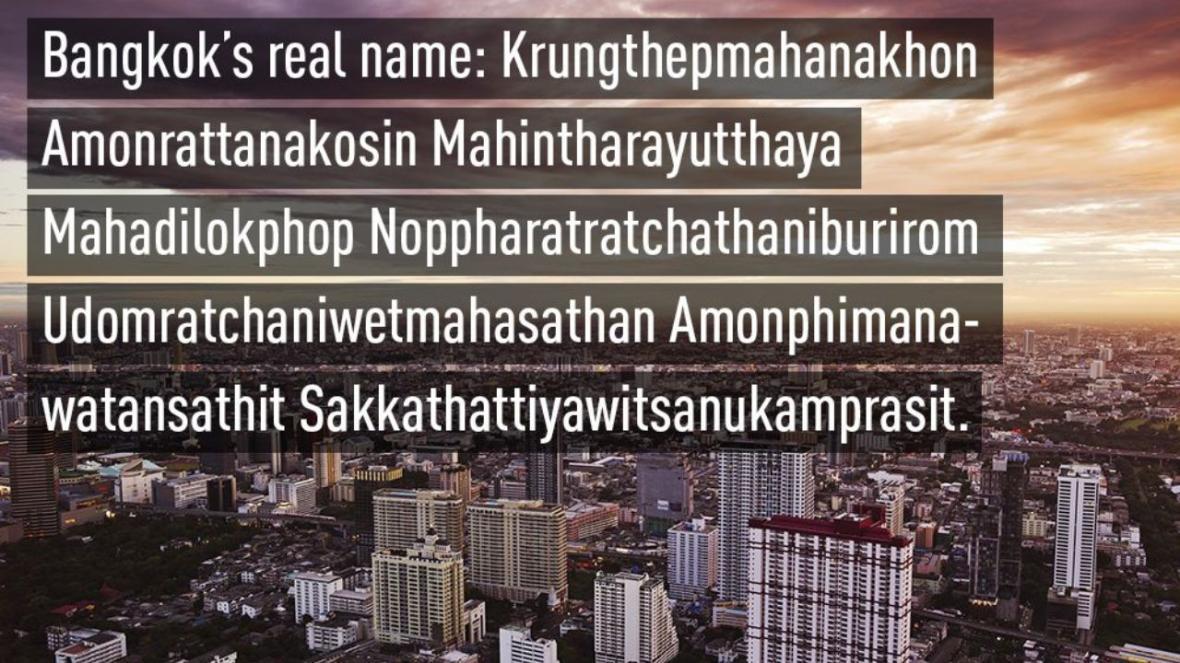 کدام شهرها طولانی ترین نام را دارند؟