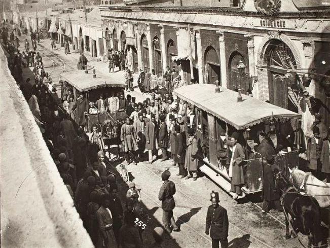 ریل ماشین دودی دوره قاجار در شهرری مرمت می گردد