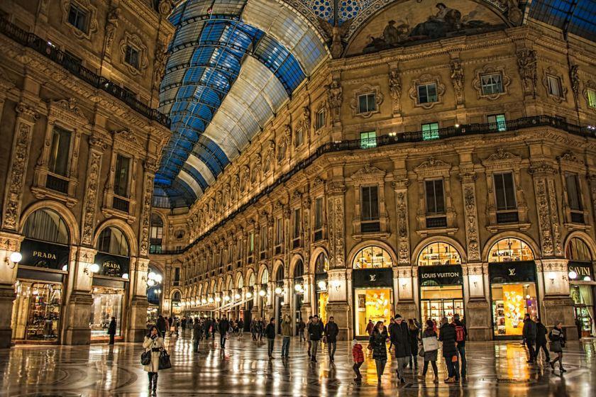 مراکز خرید میلان، شهر مد ایتالیا