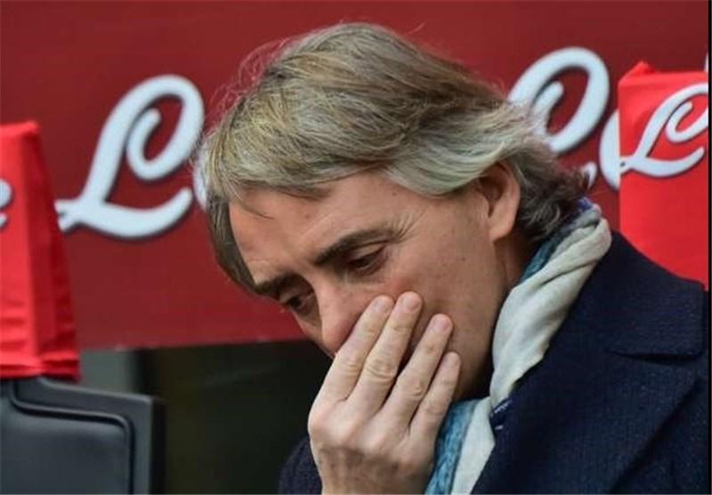 مانچینی: جبران شکست 3 بر صفر برابر یووه در بازی برگشت واقعاً سخت است