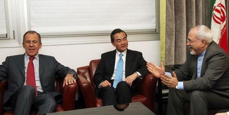 وزیر خارجه ایران دیروز در مسکو، امروز در پکن