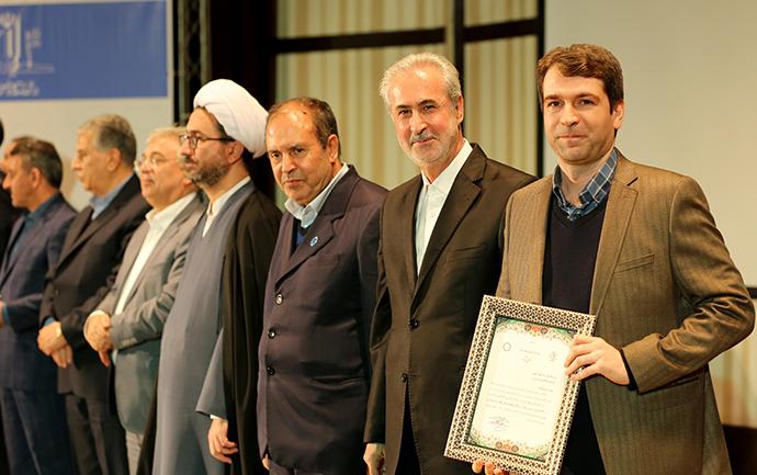 پژوهشگران دانشگاه تبریز تقدیر شدند