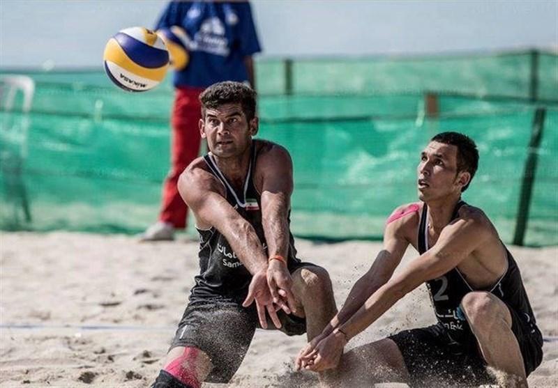تور والیبال ساحلی تایلند، تیم ملی ب ایران به مدال برنز رسید