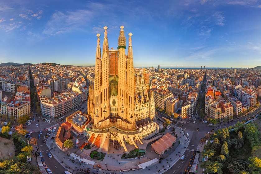 دو شگفتی معماری در بارسلونا