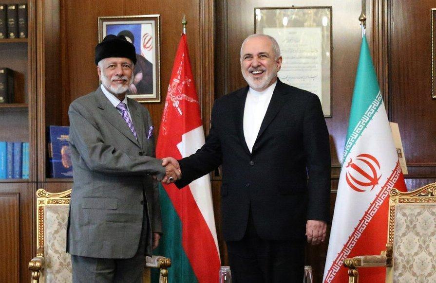 چهارمین ملاقات در یک ماه ، بن علوی با ظریف ملاقات کرد