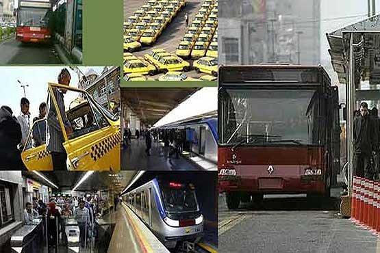 جزییات، نرخ کرایه های حمل و نقل عمومی در سال 99