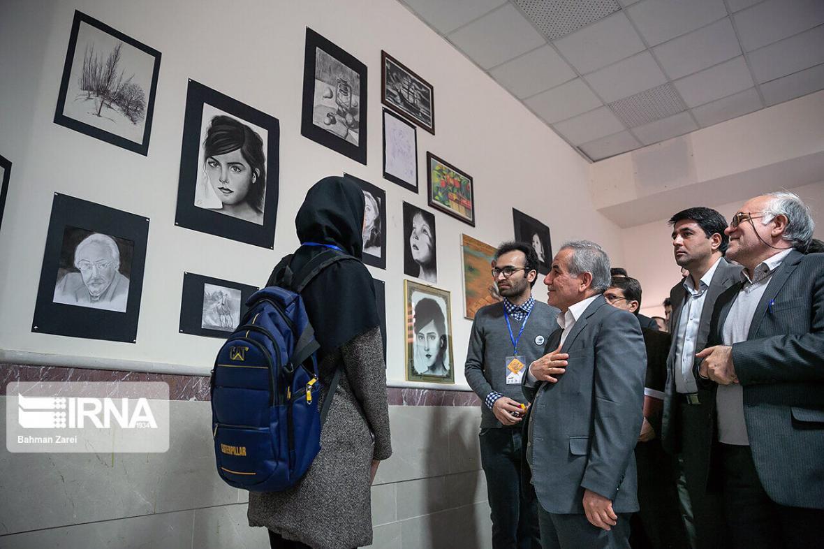 خبرنگاران بزرگترین رویداد فرهنگی دانشگاه رازی کرمانشاه افتتاح شد