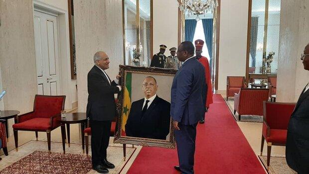 سفیر جدید ایران در سنگال، استوارنامه خویش را به رئیس جمهور این کشور تقدیم کرد