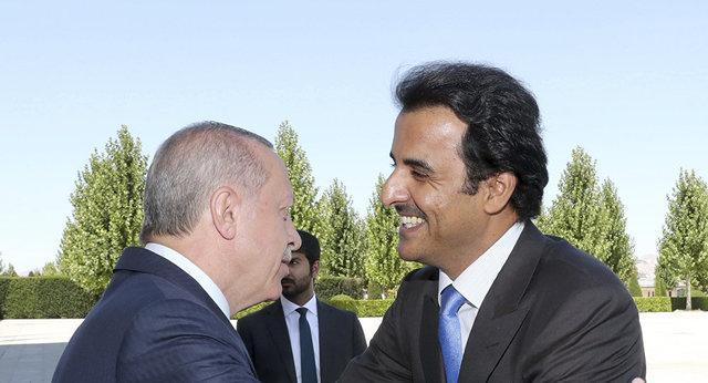 امیر قطر و اردوغان تلفنی مصاحبه کردند