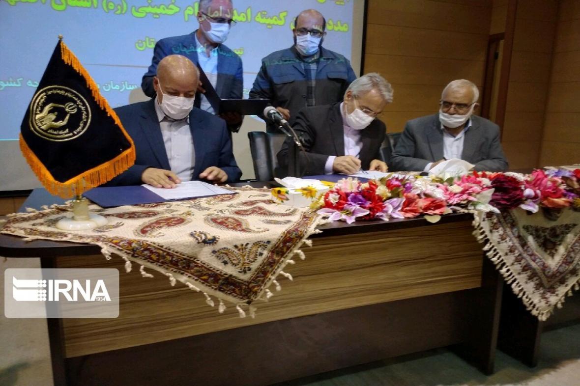 خبرنگاران توافق ساخت 1150 واحد مسکونی مددجویان کمیته امداد اصفهان امضا شد