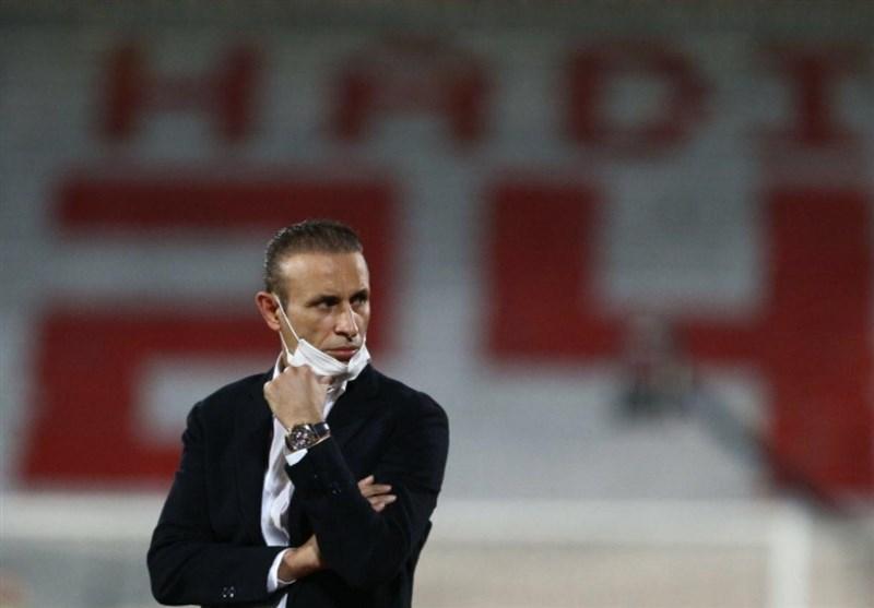 گل محمدی: یک امتیاز و نتیجه مان در نیمه دوم برای من ارزشمندتر از یک برد بود، بازیکنانم نشان دادند چقدر عظیم هستند