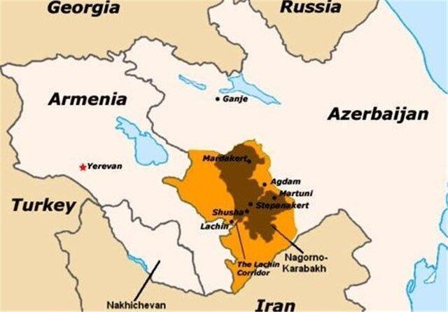 آذربایجان: ارمنستان، گنجه را گلوله باران نموده است
