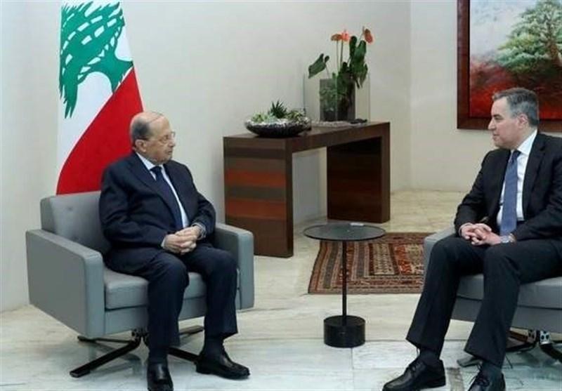 لبنان، ادیب به ملاقات عون رفت