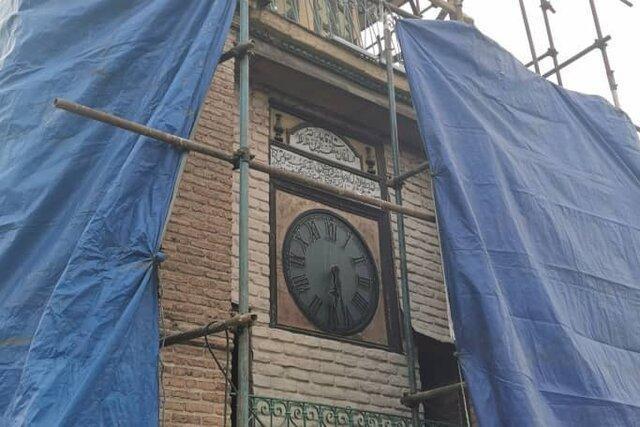 شروع بازسازی یکی از قدیمی ترین ساعت های شهری تهران