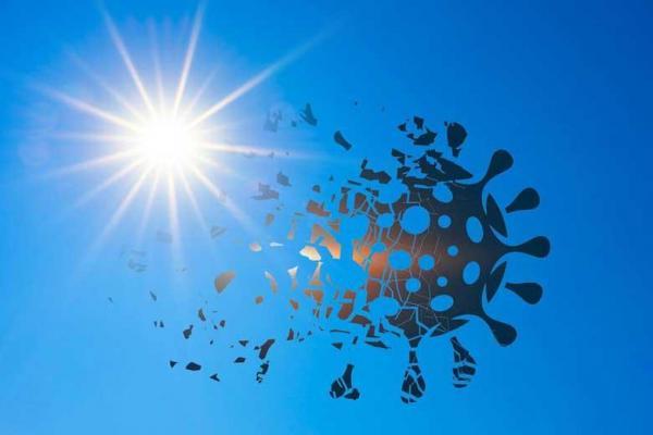 آیا اشعه ماوراءبنفش خورشید انتقال کرونا را کاهش می دهد؟
