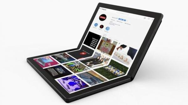 لپ تاپ اینتل با نمایشگر تاشو در راه بازار