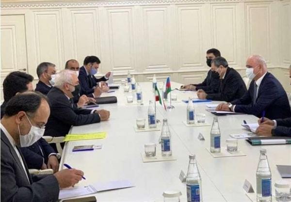 ملاقات ظریف با معاون نخست وزیر جمهوری آذربایجان