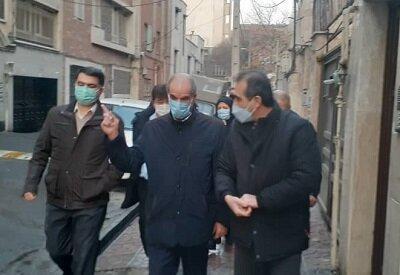 بازدید مدیر کل خدمات شهری شهرداری تهران از فرایند اجرای طرح محله