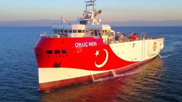 اعتراض یونان به ترکیه از بابت اعزام کشتی تحقیقاتی به دریای اژه