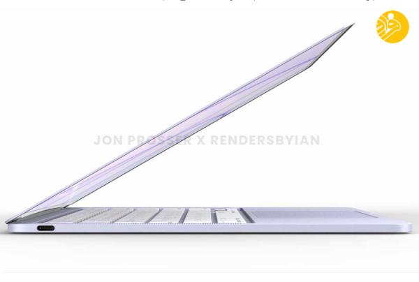(تصاویر) نسل جدید و جذاب مک بوک ایر اپل