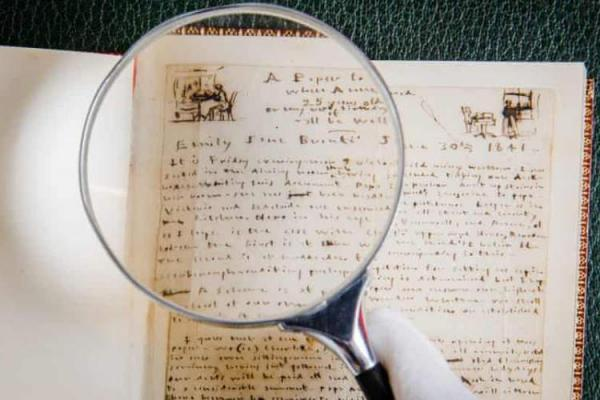 شعرهای دست نویس امیلی برونته به حراج گذاشته می گردد