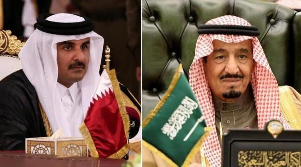 پادشاه سعودی،رسما امیرقطر را به ریاض دعوت کرد
