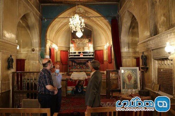 کلیسای مریم مقدس شیراز بازسازی می گردد