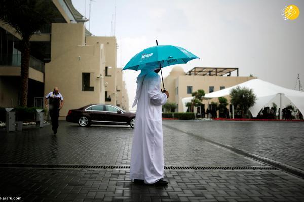 بارورکردن ابرها با هواپیما و بارش باران در امارات