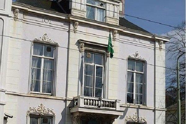 سفارت عربستان در هلند هدف تیراندازی نهاده شد، شلیک 20 گلوله